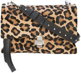 No.21 leopard print shoulder bag