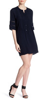 Collective Concepts Pintuck Button Up Dress