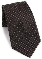 Armani Collezioni Checkered Silk Tie