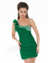 Mac Duggal Prom - 6098N Dress in Emerald Green