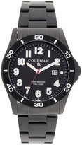 Coleman Men's COL7116 Casual Black Band Watch