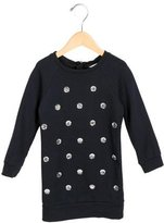Little Marc Jacobs Girls' Rhinestrone-Embellished Long Sleeve Dress
