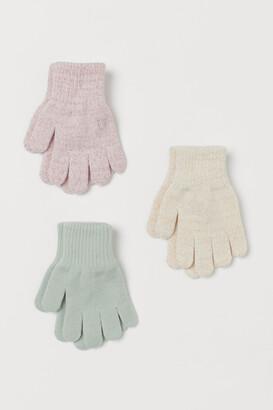 H&M 3-pack Gloves