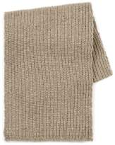 Topman Oat Chunky Ribbed Scarf