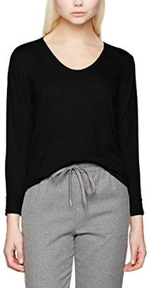 Pieces Women's Pcbillo Ls Tee Solid Noos Long Sleeve Top,(Size: Large)
