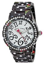 Betsey Johnson Women's Quartz Metal and Alloy Casual WatchMulti Color (Model: BJ00482-14)