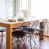 Ciel Chair Metal Eames Style Dkr Wire Mesh Chair