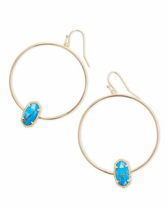 Kendra Scott Elora Gold Hoop Earring