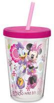 Disney Zak! Designs® Minnie 13-Ounce Double Wall Tumbler with Straw