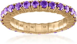 Vittorio B. Fine Jewels Fit For Life Jewels 18K Gold Purple Sapphire Ring