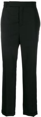 Saint Laurent Roll-Up Hem Tailored Trousers