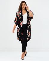 Floral Cover Up Summer Jacket