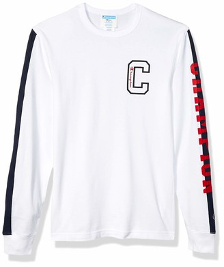 Champion Life Men's Heritage Long Sleeve Pieced Tee