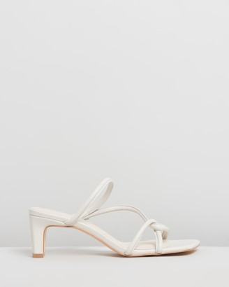 INTENTIONALLY BLANK Women's White Strappy sandals - Willow - Size One Size, 10 at The Iconic
