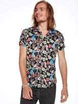 Scotch & Soda Souvenir Printed Hawaii Shirt | Regular fit