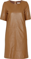 See by Chloé Leather shift dress