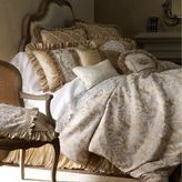 Austin Horn Collection Angelina Queen Duvet Cover in Champagne