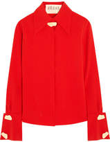 Awake Samurai Crepe Shirt - Red
