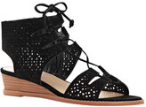Vince Camuto Women's Retana Ghillie Lace Wedge Sandal
