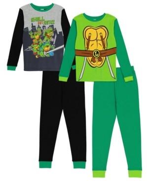AME Ninja Turtle Big Boy 4 Piece Pajama Set