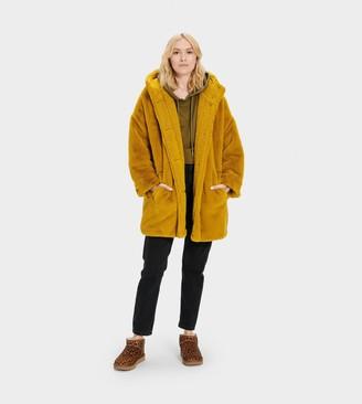 UGG Nori Oversized Coat- Faux Fur