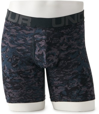 Under Armour Men's 3-pack Charged Cotton Novelty 6-inch Boxerjock Boxer Briefs