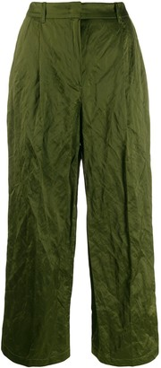 Odeeh Creased-Effect Trousers