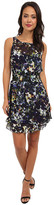 Aryn K Floral Dress