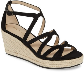 Pelle Moda Kyrell Strappy Espadrille Wedge Sandal