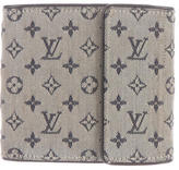 Louis Vuitton Mini Lin Compact Wallet