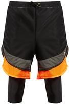 Adidas By Kolor Film Yarn Layered Shorts