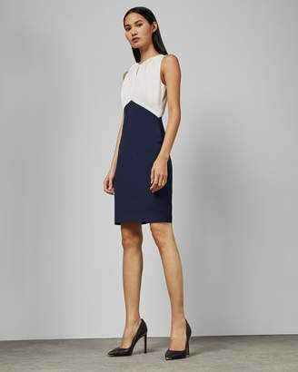 Ted Baker Fitted Sleeveless Dress