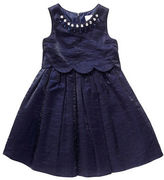 Sweet Heart Rose Sweetheart Rose Girls 2-6x Rhinestone Accented Fit-and-Flare Dress