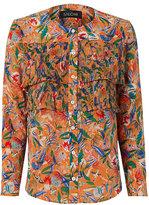 Saloni Jenny Ruffled Floral Shirt