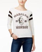 Freeze 24-7 Marilyn Monroe Juniors' Illusion Portrait Graphic T-Shirt