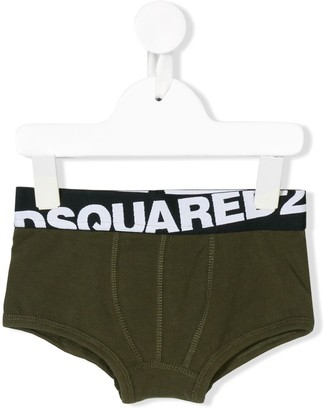 DSQUARED2 Logo Banded Briefs