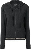 Majestic Filatures hooded zip jacket