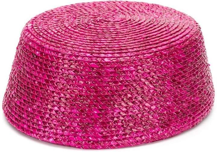 Saint Laurent Pre-Owned fez shape hat