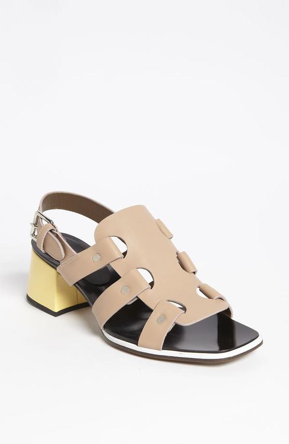 Marni Block Heel Sandal
