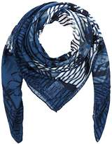 Womens Boucle Impression À La Mode Chapeau Trilby, Bleu (bleu Marine Réelle 6593), Taille Tom Sur Mesure