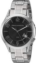 French Connection Men's 'Cromwell' Quartz Stainless Steel Automatic Watch, Color:Silver-Toned (Model: FC1260SMA)