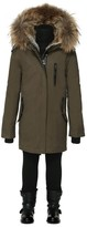 Mackage Oli Army Winter Parka Lined With Fur (8-14 Yrs)