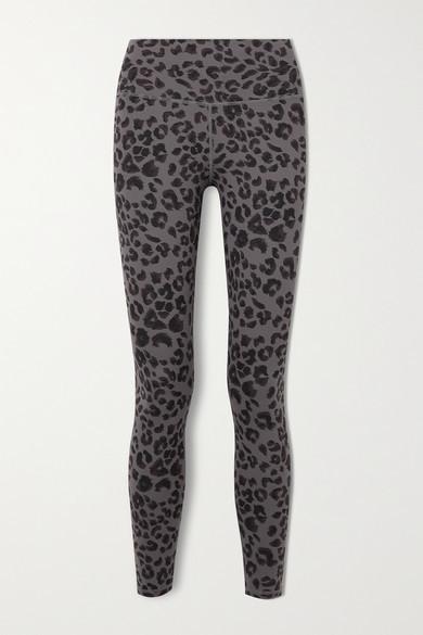 Varley Century Printed Stretch Leggings - Dark gray