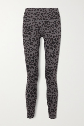 Varley Century Printed Stretch Leggings - Dark gray