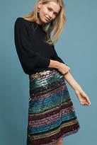 Anthropologie Sequined Soiree Skirt