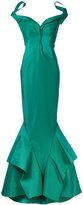 Zac Posen Bardot fishtail gown - women - Silk/Polyester - 4