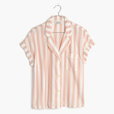 Madewell Oxford Bedtime Pajama Top