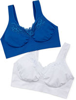 Playtex Just My Size Comfort 2-pack Pure Comfort Wireless Lace Bra - 1272
