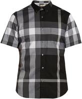 Burberry House check short-sleeved shirt