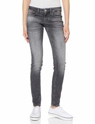 Tommy Jeans Women's Sophie Low Rise Skinny Mrckg Straight Jeans